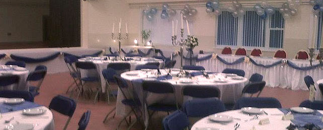 Wedding Party - Contact our Booking Secretary to check availability for your event